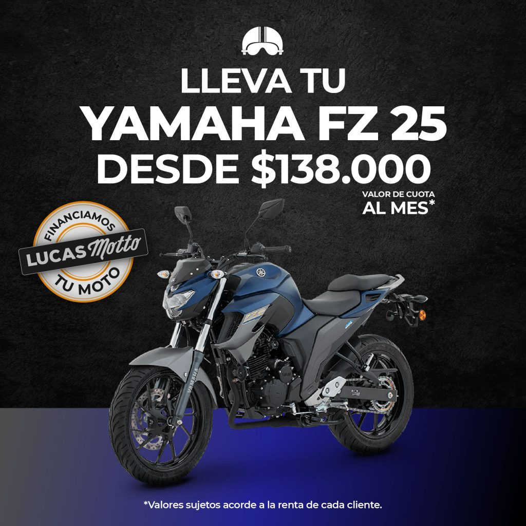 30. Yamaha fz 25